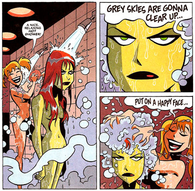 Harley & Ivy #1 panel