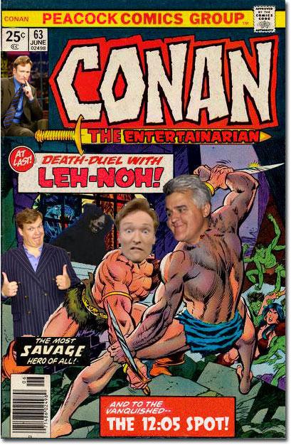 Conan vs. Leno