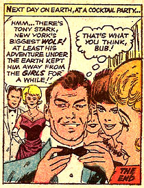 Tales of Suspense #43 panel