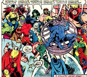 Too Many Avengers!