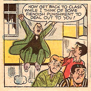 Weatherbee's a jerk.