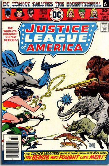 Justice League of America #132