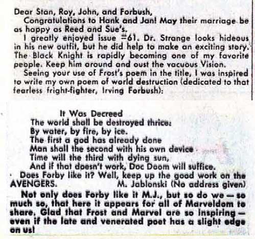 Avengers + Poetry = Fun!