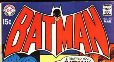Batman #220 logo