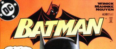 Batman #638 logo