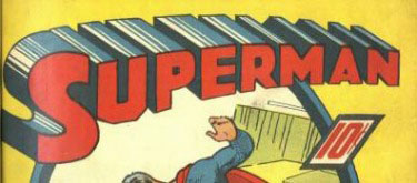 Superman #1 logo