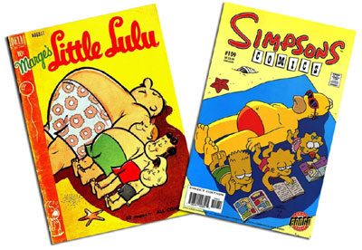 Little Lulu #26 and Simpsons #109
