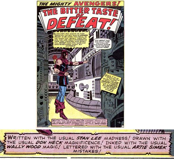 Marvel Credits