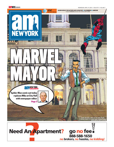 AMNY JJJ Marvel Mayor