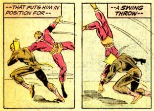 Marvel Premiere #20 panels