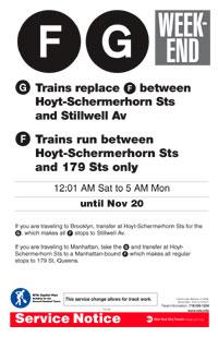 MTA Advisory