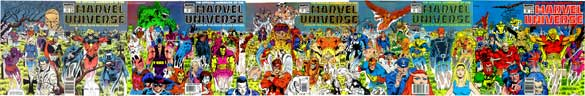 Official Handbook of the Marvel Universe #16-20