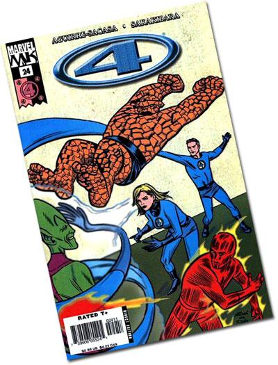 Marvel Knights 4 #32