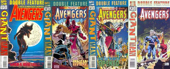 Avengers #379-382