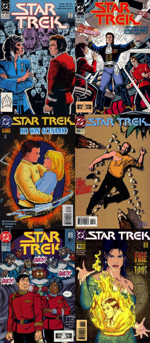 Star Trek Covers