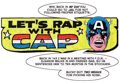 Let's Rap with Cap!