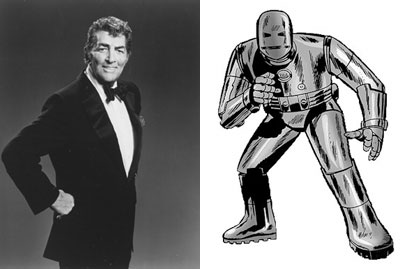 Dean Martin and Iron Man