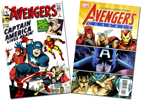Avengers and Avengers Classic #4