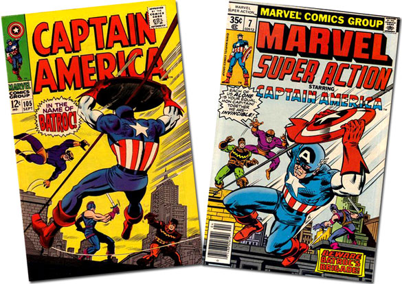 Cap #105 / Marvel Super Action #7