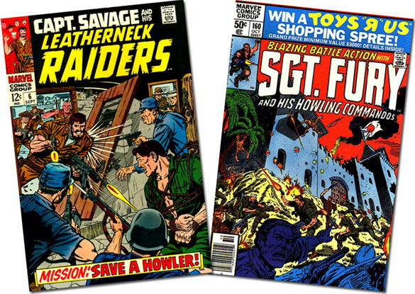 Cap Savage #6/Sgt. Fury #160