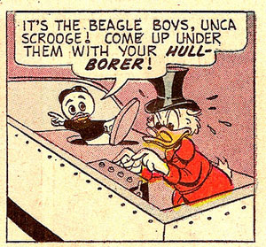 Uncle Scrooge panel