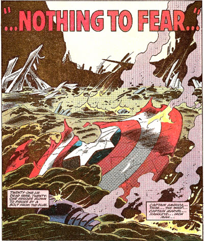 Secret Wars #12 panel