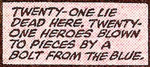 Secret Wars #12 panel