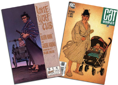 Lone Wolf & Cub #5/Catwoman #57