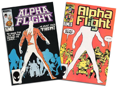 Alpha Flight #11 and 25