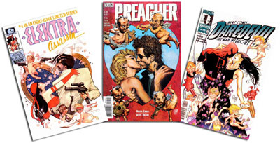 Elektra: Assassin #4/Preacher #54/DD #11