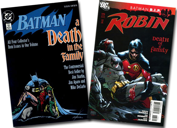 Batman: Death in the Family/Robin #175