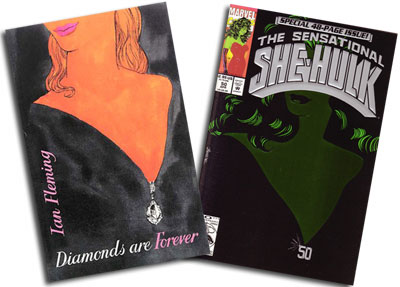 Diamonds Are Forever/She-Hulk #50