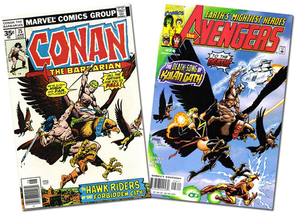 Conan #75/Avengers #28
