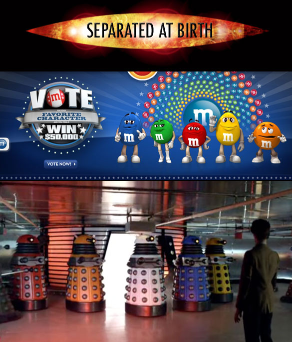M&M Daleks