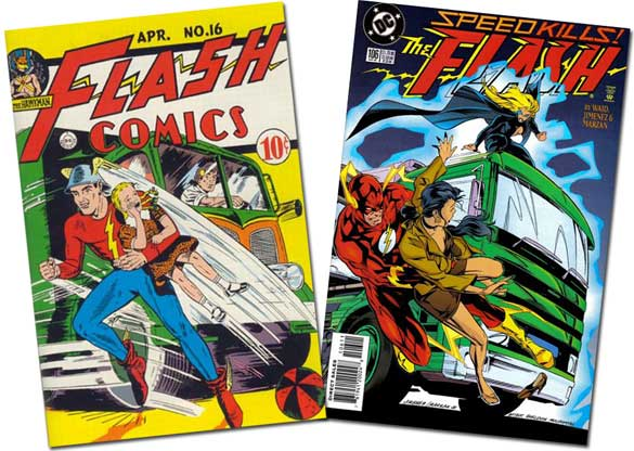 Flash Comics #16/Flash #106