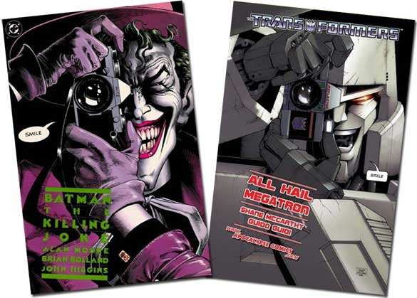 The Killing Joke/Transformers: All Hail Megatron #1