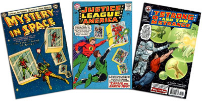 Mystery in Space #18, JLA #22, Tom Strong #12