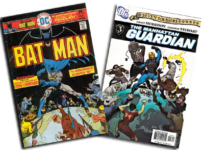 Batman #272 and Manhattan Guardian #3