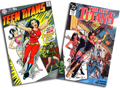 Teen Titans #23/New Titans #55