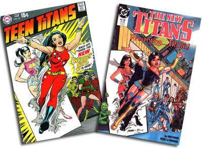 Teen Titans #23/New Titans #55