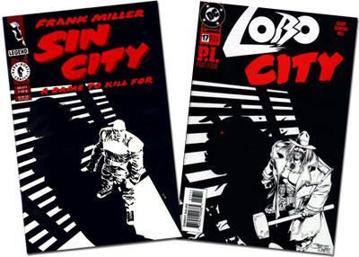 Sin City #1/Lobo #17