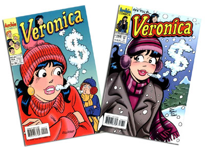 Veronica #40 & #166