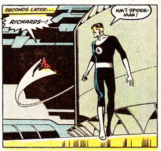 Secret Wars #3 panel