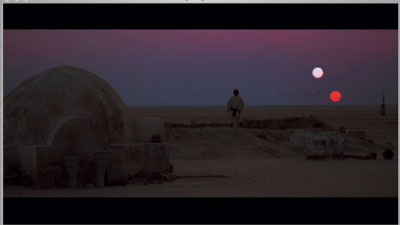 Luke on Tatooine
