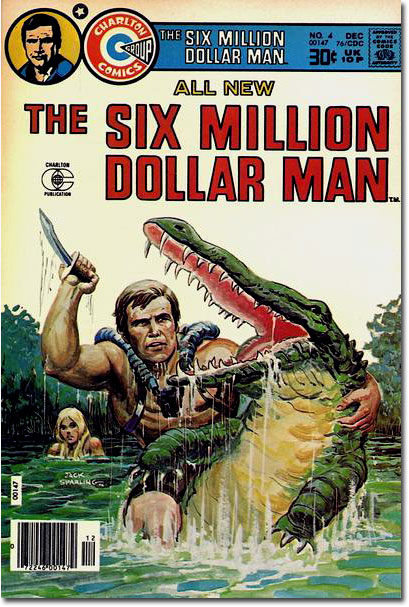The Six Million Dollar Man #4