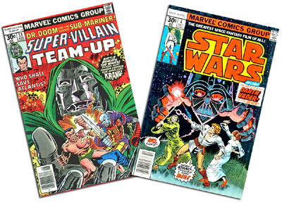 Super-Villain Team-Up #13 and Star Wars #4