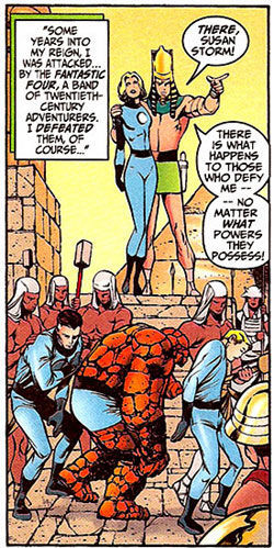 Avengers Forever #9 panel