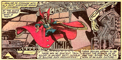 Doc Strange #52 panel