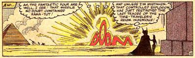 Doc Strange #53 panel