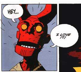 Hellboy: Pancakes